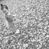 ασιατικό κορίτσι λίγα Στοκ Φωτογραφίες
