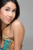 ασιατικό κορίτσι αρκετά στοκ εικόνα με δικαίωμα ελεύθερης χρήσης