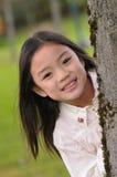 ασιατικό κορίτσι λίγα Στοκ εικόνα με δικαίωμα ελεύθερης χρήσης