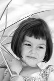 Ασιατικό κορίτσι με την κοντή τρίχα στοκ εικόνα με δικαίωμα ελεύθερης χρήσης