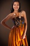 Ασιατικό κορίτσι ομορφιάς Στοκ Φωτογραφίες