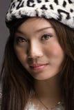 ασιατικό κορίτσι πανέμορφ&om Στοκ Εικόνες