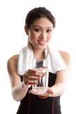 ασιατικό κορίτσι υγιές Στοκ φωτογραφία με δικαίωμα ελεύθερης χρήσης