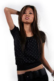 ασιατικό κορίτσι Στοκ φωτογραφία με δικαίωμα ελεύθερης χρήσης