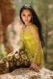 ασιατικό κορίτσι Στοκ Εικόνες