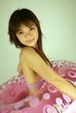 ασιατικό κορίτσι lifesaver Στοκ φωτογραφίες με δικαίωμα ελεύθερης χρήσης