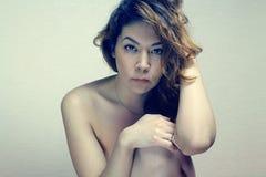 Ασιατικό κορίτσι nude Στοκ φωτογραφίες με δικαίωμα ελεύθερης χρήσης