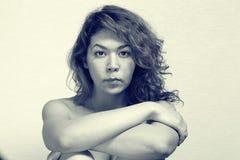 Ασιατικό κορίτσι nude Στοκ Εικόνες