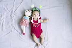 Ασιατικό κοριτσάκι 15 Στοκ Εικόνες