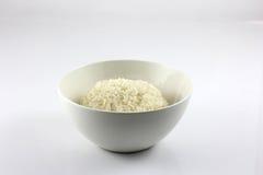 Ασιατικό κολλώδες ρύζι σε ένα κύπελλο Στοκ Εικόνα