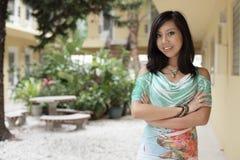 Ασιατικό μοντέλο στοκ φωτογραφίες