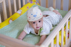 ασιατικό μωρό χαριτωμένο στοκ εικόνες με δικαίωμα ελεύθερης χρήσης