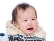 Ασιατικό να φωνάξει κοριτσάκι στοκ εικόνες