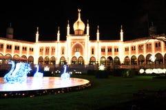 Ασιατικό παλάτι Στοκ φωτογραφίες με δικαίωμα ελεύθερης χρήσης