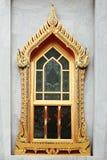 ασιατικό παράθυρο Στοκ φωτογραφία με δικαίωμα ελεύθερης χρήσης