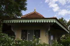 Ασιατικό περίπτερο στον κήπο Στοκ Εικόνες