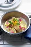 ασιατικό πιάτο εξωτικό Στοκ Φωτογραφίες