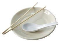 ασιατικό πιάτο Στοκ φωτογραφία με δικαίωμα ελεύθερης χρήσης