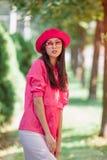 ασιατικό πορτρέτο μόδας γυναικών Στοκ Εικόνα