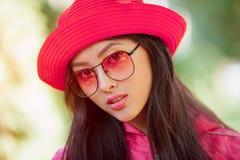 ασιατικό πορτρέτο μόδας γυναικών Στοκ Φωτογραφίες