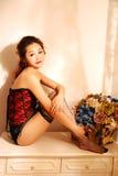 Ασιατικό προκλητικό belle στοκ εικόνες