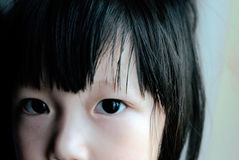 ασιατικό πρόσωπο παιδιών Στοκ εικόνες με δικαίωμα ελεύθερης χρήσης