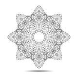 Ασιατικό στοιχείο mandala Στοκ Εικόνες