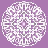 Ασιατικό σχέδιο με τα arabesques και τα floral στοιχεία Στοκ φωτογραφία με δικαίωμα ελεύθερης χρήσης