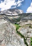 Ασιατικό τοπίο βουνών βράχου Στοκ φωτογραφία με δικαίωμα ελεύθερης χρήσης