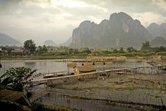 ασιατικό τοπίο στοκ φωτογραφία