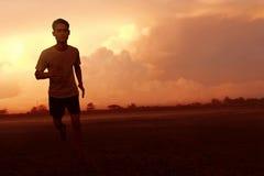 Ασιατικό τρέξιμο ατόμων Στοκ εικόνα με δικαίωμα ελεύθερης χρήσης