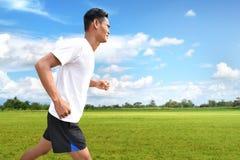 Ασιατικό τρέξιμο ατόμων Στοκ Εικόνες
