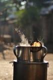 ασιατικό τσάι δοχείων καφέ Στοκ φωτογραφία με δικαίωμα ελεύθερης χρήσης