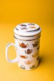 ασιατικό τσάι φλυτζανιών Στοκ Εικόνες