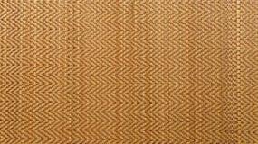 Ασιατικό υφαμένο υπόβαθρο σύστασης χαλιών ξύλου ή ινδικού καλάμου Στοκ Εικόνες