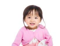 Ασιατικό χαμόγελο μικρών κοριτσιών Στοκ φωτογραφία με δικαίωμα ελεύθερης χρήσης
