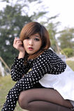 ασιατικό όμορφο κορίτσι κ& Στοκ φωτογραφία με δικαίωμα ελεύθερης χρήσης