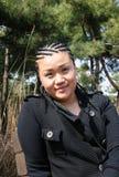 ασιατικό όμορφο κορίτσι π&lam στοκ εικόνες
