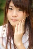 ασιατικό όμορφο κορίτσι Στοκ φωτογραφία με δικαίωμα ελεύθερης χρήσης