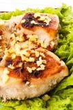 ασιατικό ύφος κοτόπουλου στηθών Στοκ εικόνα με δικαίωμα ελεύθερης χρήσης