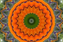 Ασιατικό fractal καλειδοσκόπιων Στοκ εικόνα με δικαίωμα ελεύθερης χρήσης