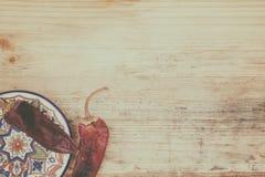 Ασιατικό stillife με τα πιπέρια Στοκ φωτογραφία με δικαίωμα ελεύθερης χρήσης