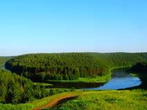 δασική φωτογραφία Ρωσία φύσης φθινοπώρου Στοκ Εικόνες