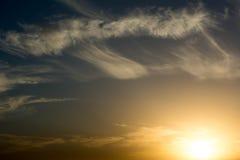 δασικό ηλιοβασίλεμα της Ρουμανίας φθινοπώρου Στοκ εικόνα με δικαίωμα ελεύθερης χρήσης