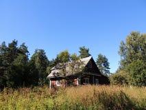 δασικό σπίτι μικρό Στοκ φωτογραφίες με δικαίωμα ελεύθερης χρήσης