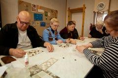 Ασκήσεις για την ανάπτυξη της προσοχής για το eldery Στοκ Εικόνες