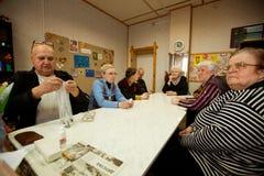 Ασκήσεις για την ανάπτυξη της προσοχής για το eldery Στοκ Φωτογραφίες