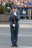 Ασκήσεις μονάδων με όπλο-1 Στοκ φωτογραφία με δικαίωμα ελεύθερης χρήσης