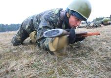 ασκήσεις στρατιωτικές Στοκ Εικόνα