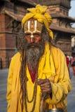 Ασκητικός μοναχός, ιερό άτομο Sadhu Στοκ φωτογραφίες με δικαίωμα ελεύθερης χρήσης